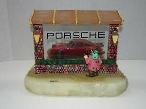 RON-LEE-CLOWN-WISHFUL-THINKING-PORSCHE-CAR-IN-WINDOW-SIGNED