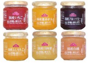 Topvalu-Sugar-free-Fruits-Jam-7-kinds-180g-Japan