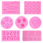 Silicone Fondant Mold Sugar Art Moulds DIY Candy Cake Modeling Decoration Tools
