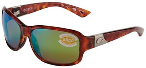 4860850c3764 Costa Del Mar Inlet Sunglasses IT-10-OGMP 580P Tortoise Green ...
