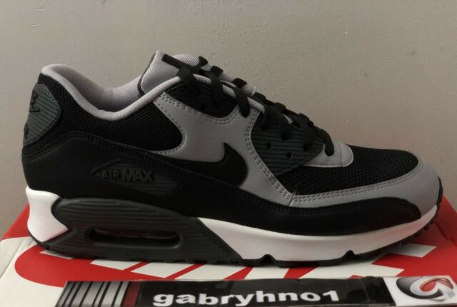 """Nike Air Max 90 Essential """"Wolf Grey"""" 537384-053 Men's Size 12 Running Shoes"""
