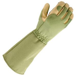 Genuine-Wells-Lamont-RoseTender-Pruning-Gloves-grain-leather-palm-good-quality