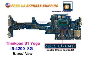 Lenovo-Thinkpad-S1-yoga-Laptop-ZIPS1-LA-A341P-i5-4200-8G-S1-Motherboard