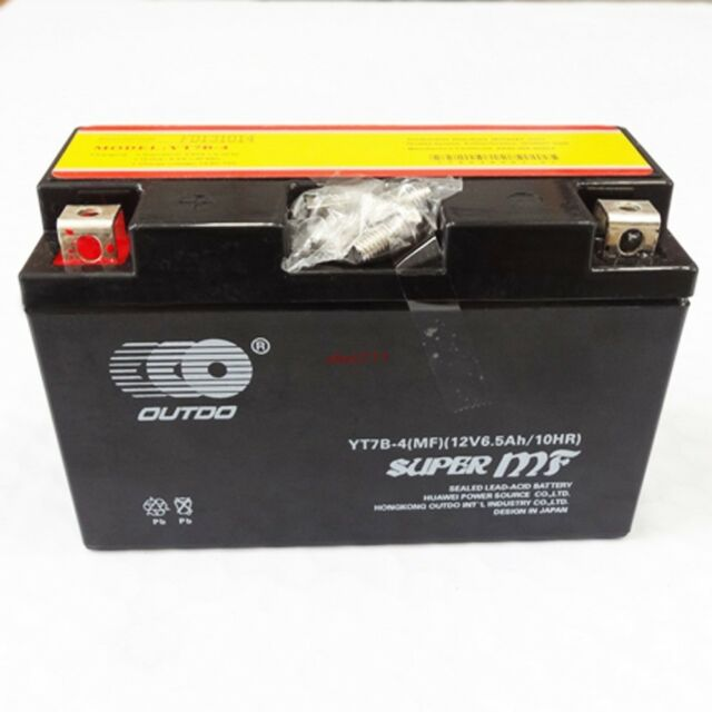 Motorcycle YT7B-4 CT7B-4 YT7B-BS ATV Battery Sealed MF For Yamaha Kawasaki Bikes