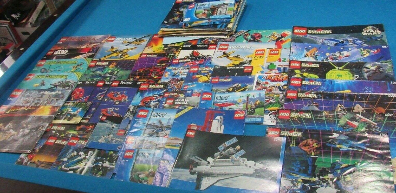 11 Lb Lb Lb Bulk Lot of Assorted LEGO Building Instruction Manuals - LOT e9bc36