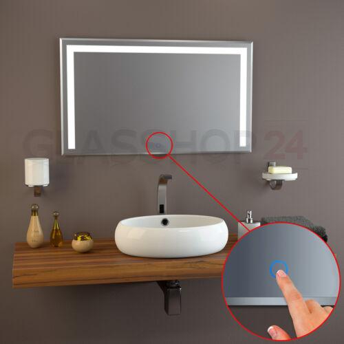 LED Kristal Spiegel Badspiegel Sensor Wandspiegel Lichtspiegel Badezimmerspiegel