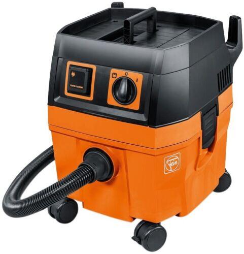 FEIN 5.8 Gal Wet//Dry Dust Collector Woodworking Tool Extractor Vacuum Orange