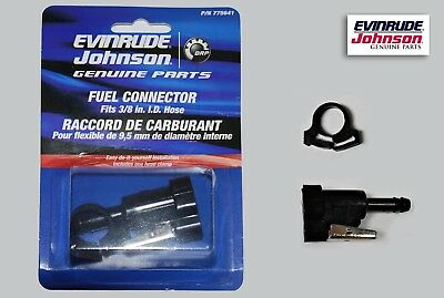 Part 301840. NOS OMC Evinrude Johnson Fuel Connector
