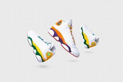 Nike Air Jordan Retro 13 Xiii Playground Multi Ps Td Baby Women