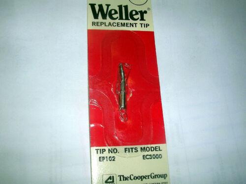 WELLER EP102 SOLDERING TIP 2 TIPS 1//32 NEW U//O EC3000