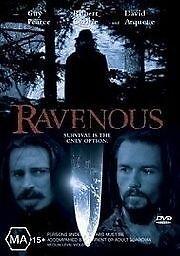 Ravenous - Guy PEARCE. Rpbery CARLYLE, David ARQUETTE Like New [Region 4] (D517)