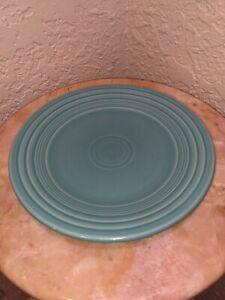 Fiestaware Turquoise Salad Plate Fiesta Blue 9 1/2 inch Plate