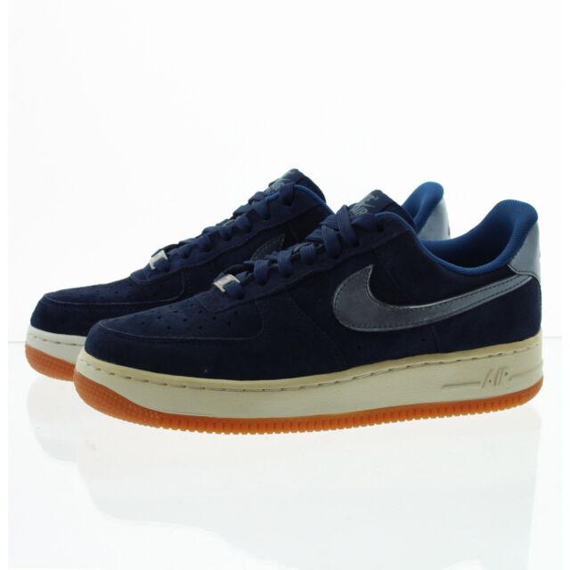 Shoes 1 Sz Nike 8 Blue 818595 400 Force 5 Suede Air Womens Navy Af1 '07 Prm ZPwkTOXiu
