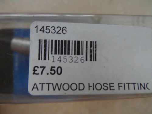 "NEW ATTWOOD MARINE FUEL HOSE  FITTING 3//8/"" ID HOSE 14532-6 MERCURY MARINER"