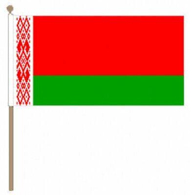12 Stück Belarus (22.9cm X 15.2cm) Hand Winkfahne äRger LöSchen Und Durst LöSchen