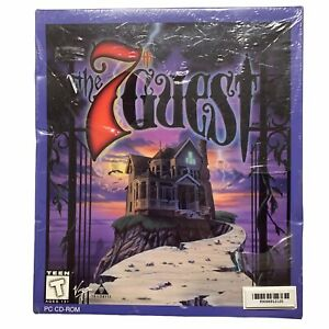 VTG Virgin The 7th Guest PC CD Rom Game NEW Sealed Original Packaging