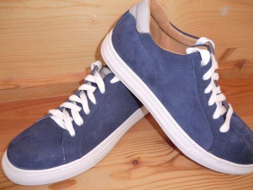 Froddo Halbschuhe G4130052 blau weiß echtes Leder weich