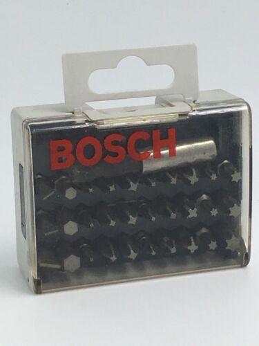 extra hard 25 mm Bosch 2607001931 31-Piece Set Screwdriver bit set mixed