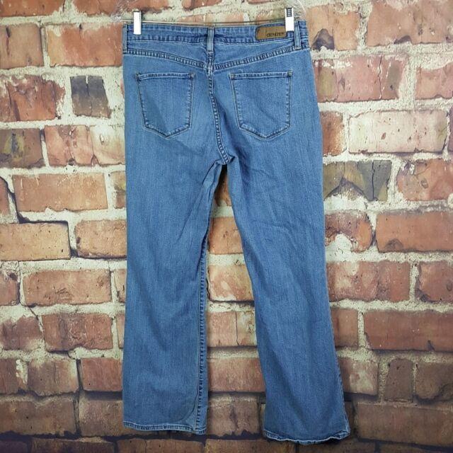 Levis Denizen Boot Cut Jeans Womens Size 12 Stretch Medium Wash Denim