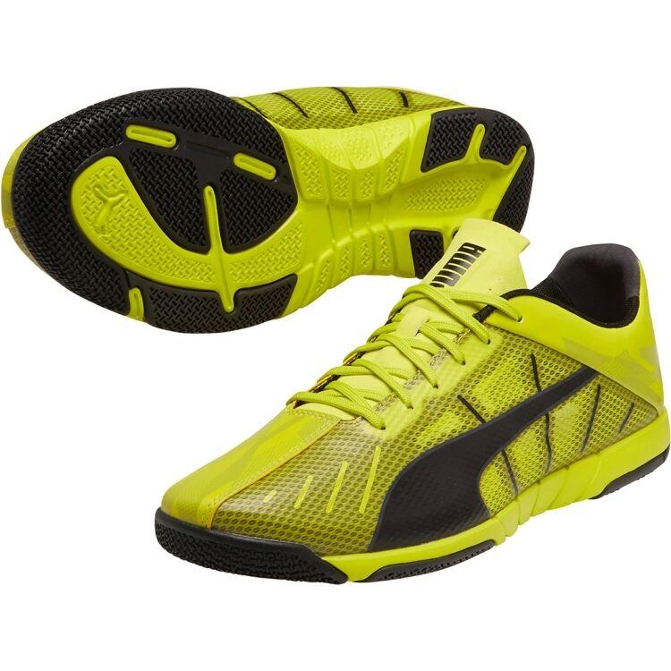 Puma 2015 Neon Lite 2.0 Casual / Training Soccer Shoes Yellow / Black