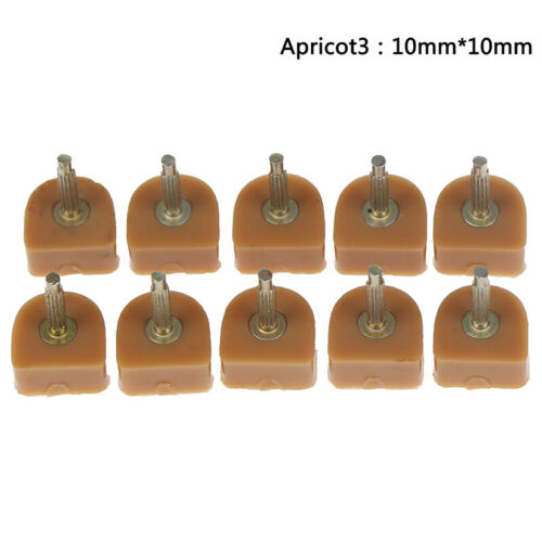 10Pcs High Heel Shoe Repair Tips Taps Pins Dowel Lifts Replacement/_ DOLAFL