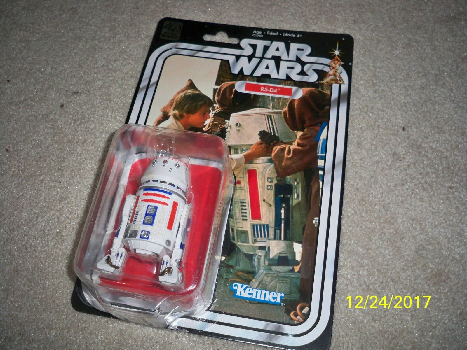 Star Wars Vintage Collection 40th anniversary 6 inch r5-d4
