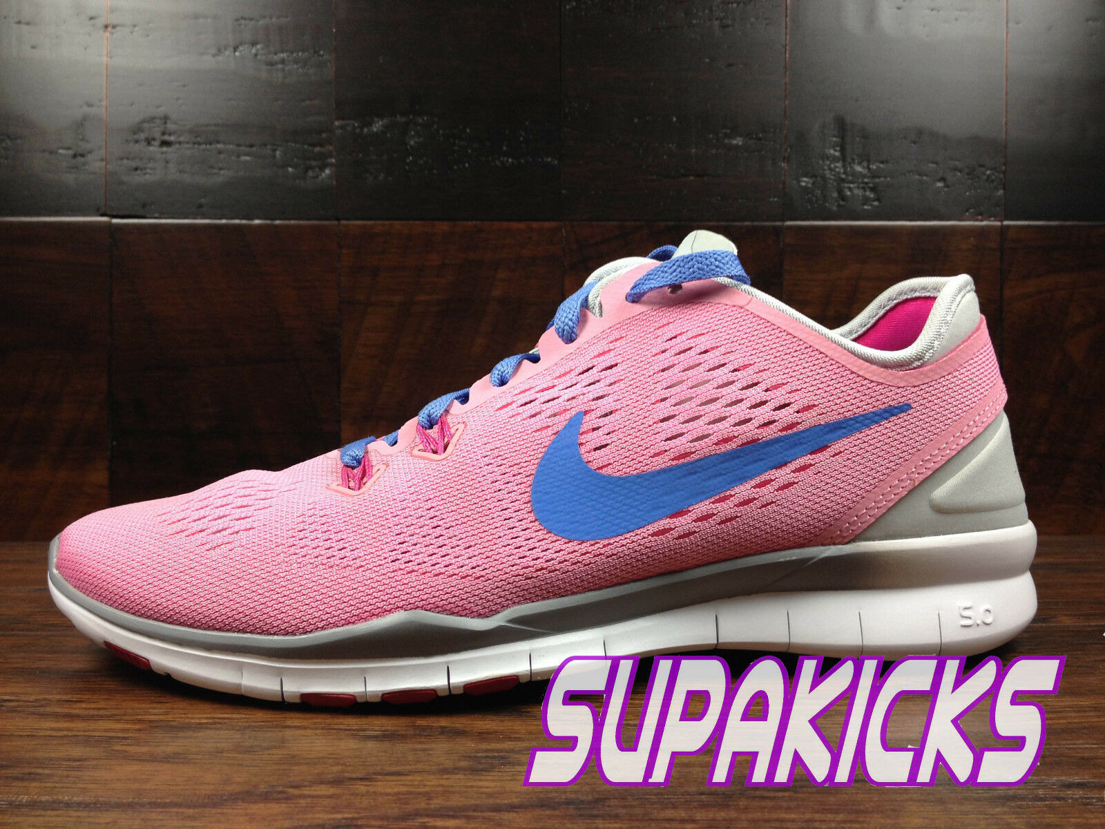 NIKE FREE 5.0 TR FIT 5 Womens (pink Polar Pure Platinum) Crossfit [704674-600]
