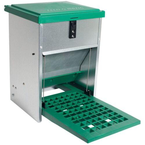 Futterautomat mit Trittklappe Feedomatic Futterautomat mit Trittplatte 5kg