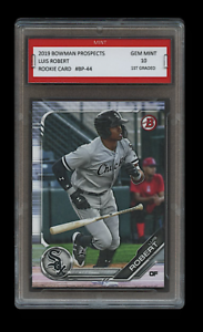 LUIS-ROBERT-2019-BOWMAN-PROSPECTS-Topps-1ST-GRADED-10-ROOKIE-CARD-RC-WHITE-SOX