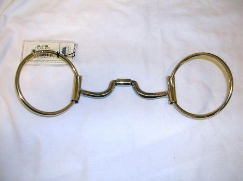 Myler Equestrian Horse Bit C Sleeve Loose Ring Snaffle 5