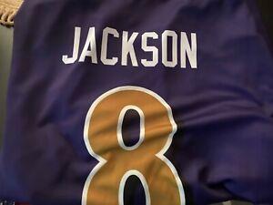 Details about Lamar Jackson Baltimore Ravens Color Rush Legend Jersey Purple Gold - 2X Ravens