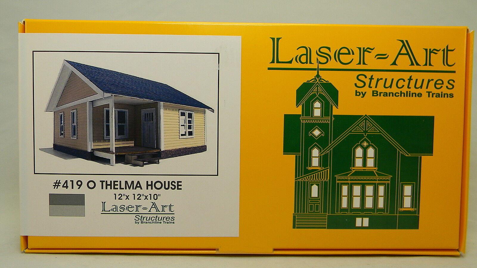 NIB O Branchline Laser-Art Thelma House Kit