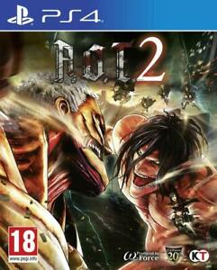 A-O-T-2-Attack-On-Titan-2-For-PS4-New-amp-Sealed