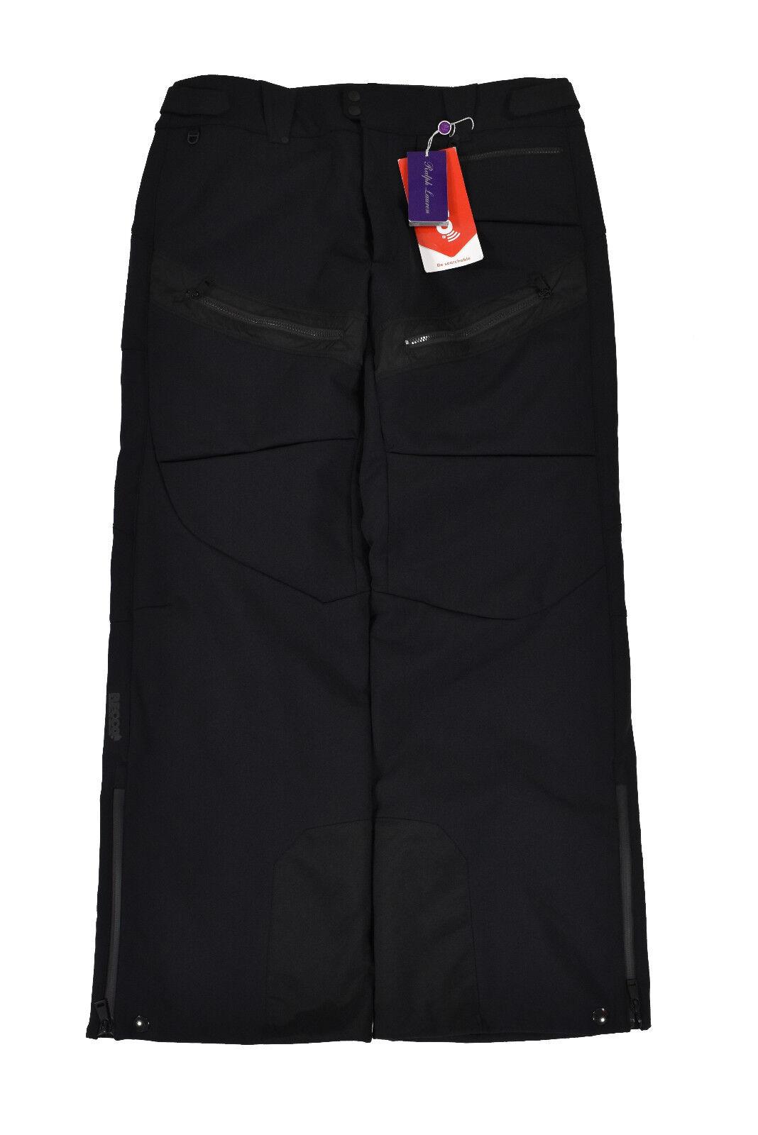 Ralph Lauren púrpura Label Negro Recco Esquí Tabla Nieve Pantalones XXL Nuevo