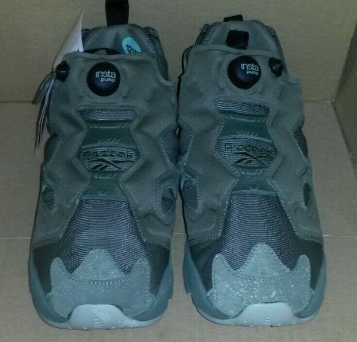 REEBOK InstapumP FurY MTP Hunter verde BD1501 Zapatillas Ante gris Nuevo Tamaño 12