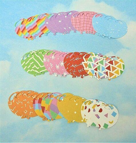 Formas troqueladas Globo X 60 Colores Mezclados