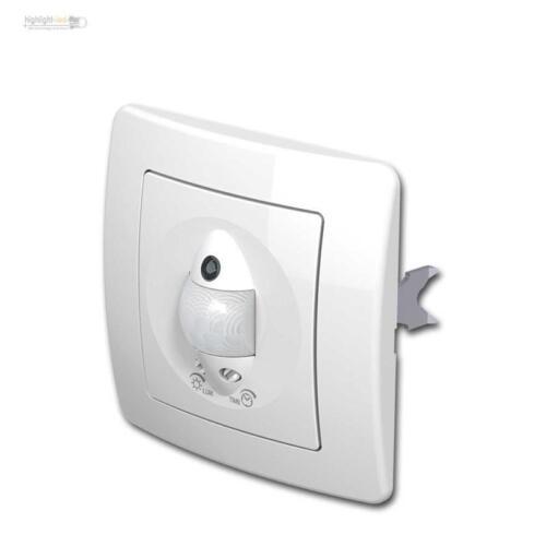 Bewegungsmelder IR EKONOMIK 250V~//5A unterputz weiß UP PIR Sensor Schalter