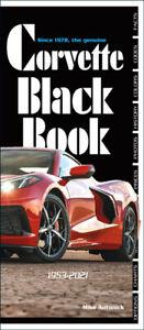 Corvette Black Book 1953-2021 by Mike Antonick