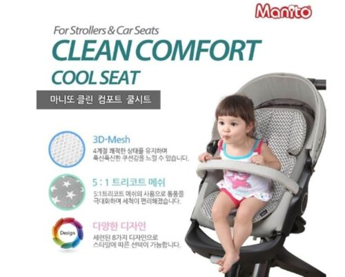 MANITO Comfort Infant Stroller Car Seat Cover Liner Cushion Cool 3D Mesh ZG