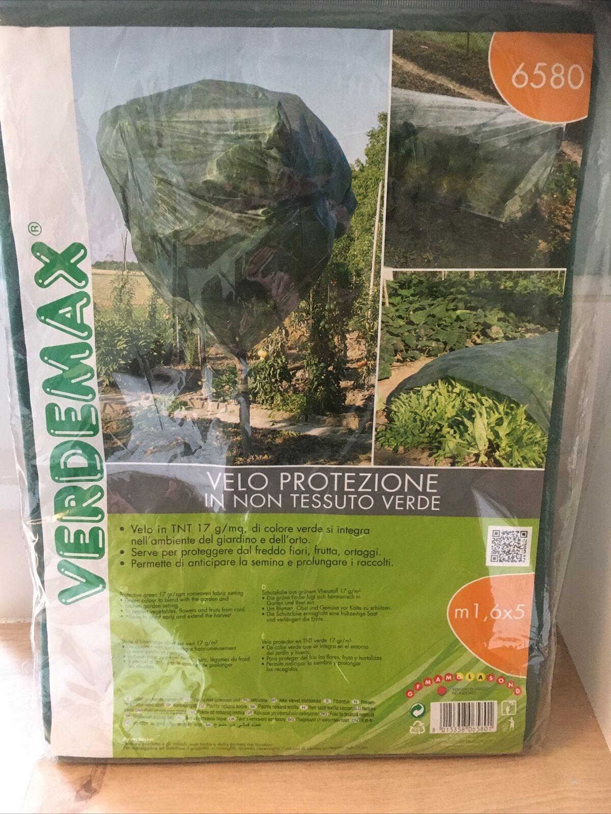 Heavy Duty Plant Fleece Cover Frost Protection Warming Jacket Bush Tree 17g/mq
