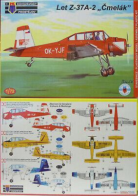 """1:72 Agrarflieger Let Z-37 A-2 /""""Cmelak/"""",Tschechien Plastik KP NEUHEIT"""