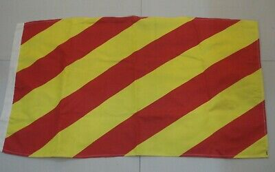 "U Naval Signal Flag Marine Code 16/"" X 28/"" Nautical // Boat LARGE FLAG"