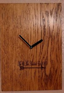 Personalised-Mr-and-Mrs-Engineered-Oak-Wall-Clock-Weddings-Anniversary-039-s