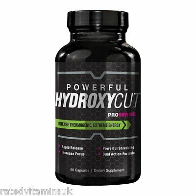 ProSeries Hydroxycut Hardcore Fast Fat Burner Thermogenic Weight Loss Diet Elite