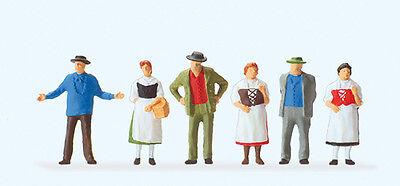 Preiser 10538 Gauge H0 Figurines,on the Camping Spot # New Original Packaging ##