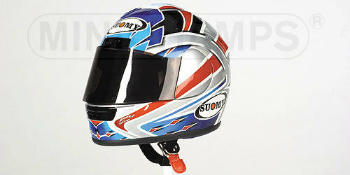 Minichamps Suomy helmet Ruben Xaus 2001 1 2 Ducati SBK   WSB