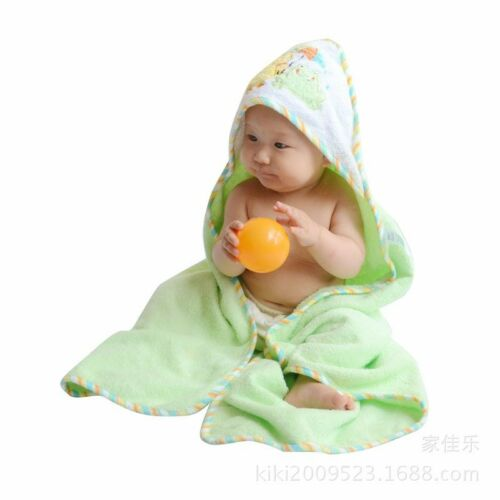 FACE TOWEL BRAND NEW BABY COTTON HOODED BATH TOWEL