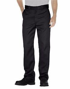 Dickies Mens Original Fit 874 Work Pant Rinsed Black Classic Work Uniform New