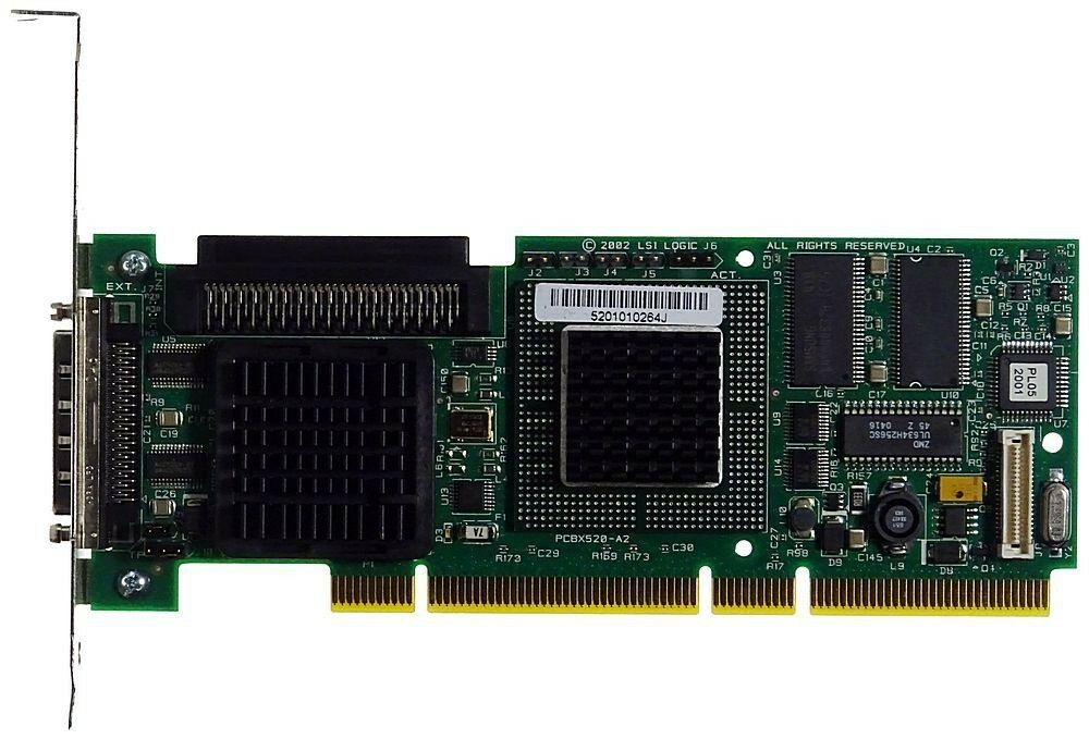 LSI Logic MegaRAID u320 pcbx520