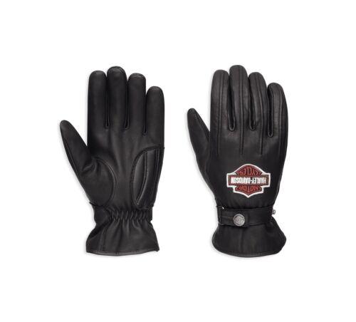Herren Motorradhandschuhe XXL Harley-Davidson Enthusiast Leder Handschuhe Gr
